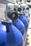 Réservoirs d'oxygène Photo libre de droits