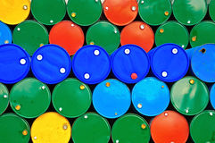 Réservoirs de carburant. Photos libres de droits