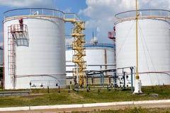 Réservoirs de carburant Photographie stock libre de droits