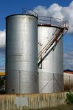 Réservoirs de carburant Image stock