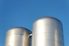 Réservoirs de CO2 Image stock