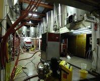 Réservoirs de fermenation de vin Image stock