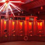 Réservoirs de fermenteur de vin Photographie stock libre de droits