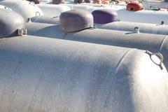 Réservoirs de propane photos libres de droits