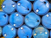Réservoirs de stockage de pétrole Image stock