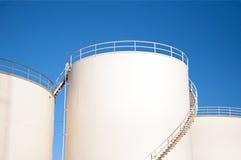 Réservoirs de stockage du combustible Photo libre de droits