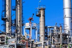 Réservoirs industriels Photographie stock libre de droits