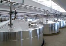 Réservoirs industriels Image stock