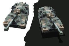 Réservoirs militaires Images libres de droits