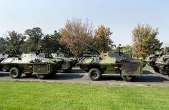 Réservoirs militaires Images stock