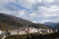 Résidant sur la montagne Photos stock