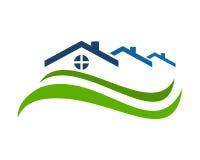 Résidence à la maison de toit Photo libre de droits