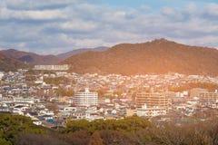 Résidence de Kyoto sur la montagne images libres de droits