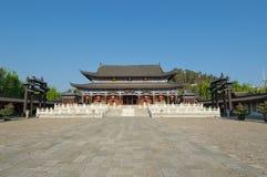 Résidence de la MU, vieille ville de lijiang, yunnan, porcelaine images libres de droits