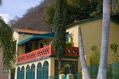 Résidence de Lourdes de villa sur Malecon images libres de droits