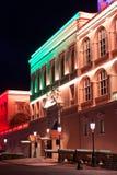 Résidence de palais royal de prince du Monaco, l'Europe image libre de droits