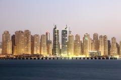 Résidence de plage de Jumeirah images stock