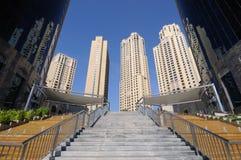 Résidence de plage de Jumeirah, Dubaï Photo libre de droits