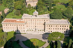 Résidence de Vatican Photos libres de droits