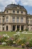 Résidence de Wurtzbourg image libre de droits