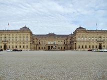Résidence de Wurtzbourg photos libres de droits