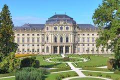 Résidence de Wurtzbourg, Allemagne photos libres de droits
