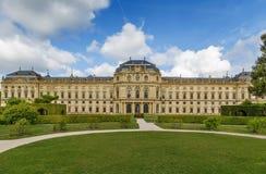 Résidence de Wurtzbourg, Allemagne photos stock