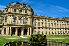 Résidence de Wurtzbourg en Allemagne image libre de droits