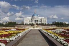 Résidence du président de la République du Kazakhstan Ak Orda à Astana photo stock