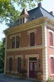 Résidence historique au site de brasserie dans Ulm neuf photographie stock