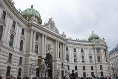 Résidence le Habsbourg de Hofburg photographie stock libre de droits