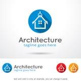 Résidence Logo Template Design Vector Image libre de droits