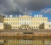 Résidence présidentielle de la Finlande à Helsinki images stock