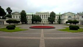 Résidence présidentielle, Lithuanie Photographie stock libre de droits