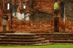 Résidence principale d'histoire de bâtiment de Lopburi de Chambre de Wichayen vieille pour des ambassadeurs images libres de droits