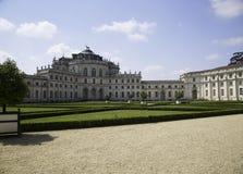 Résidence royale de Savoia dans Stupinigi 1729 Photos stock