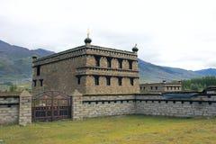 Résidence tibétaine image libre de droits