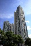 Résidentiel à Singapour Photos libres de droits