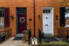 Résidentiel unique et beau et biens commerciaux dans salut photo libre de droits