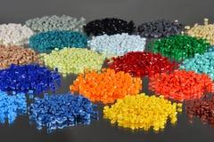 Résine teinte de polymère Photo stock