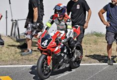 Résistance de Yamaha YZF R-1-Team Folch Image stock