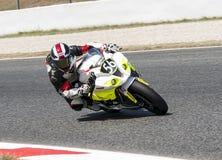 RÉSISTANCE 24 HEURES DE RACE DE MOTO - CATALUNYA Photos stock