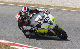 RÉSISTANCE 24 HEURES DE RACE DE MOTO - CATALUNYA Photo stock