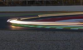 RÉSISTANCE 24 HEURES DE RACE DE MOTO - CATALUNYA Photos libres de droits