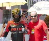 RÉSISTANCE 24 HEURES DE RACE DE MOTO - CATALUNYA Photo libre de droits