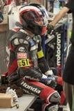 RÉSISTANCE 24 HEURES DE RACE DE MOTO - CATALUNYA Image libre de droits