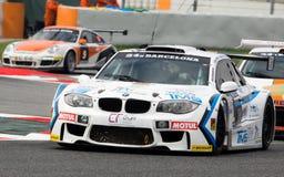 RÉSISTANCE 24 HEURES DE RACE DE VOITURE - BARCELONE Photo stock