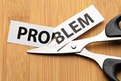 Résolvez le problème image stock