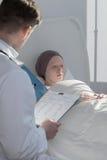 Résultats des examens médicaux Photo libre de droits