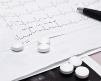 Résultats des tests médicaux Images libres de droits
